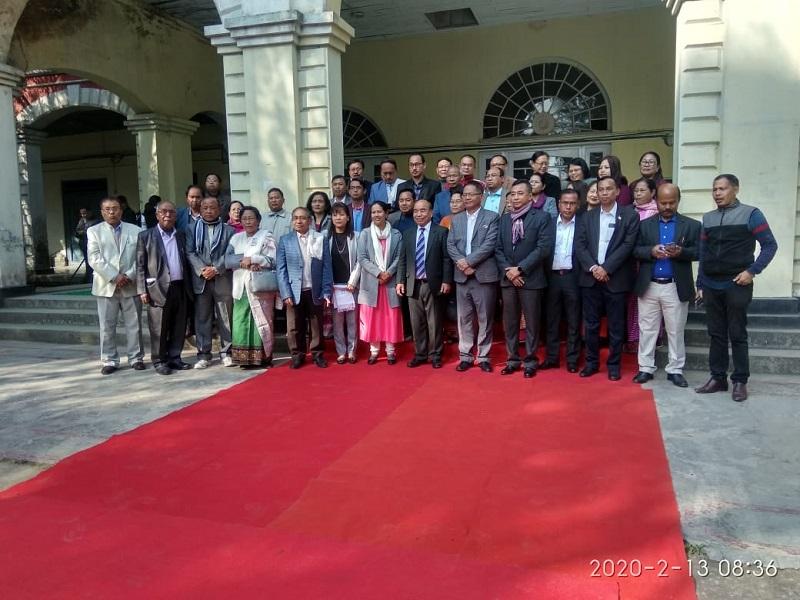 Visit of CM Mizoram